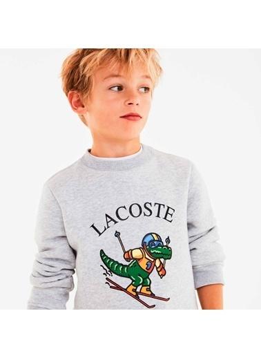 Lacoste Erkek Çocuk Baskılı Sweatshirt SJ0089.CCA Renkli